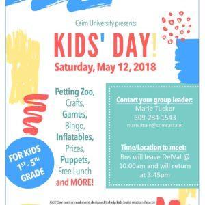 Kidzone Kids' Day!