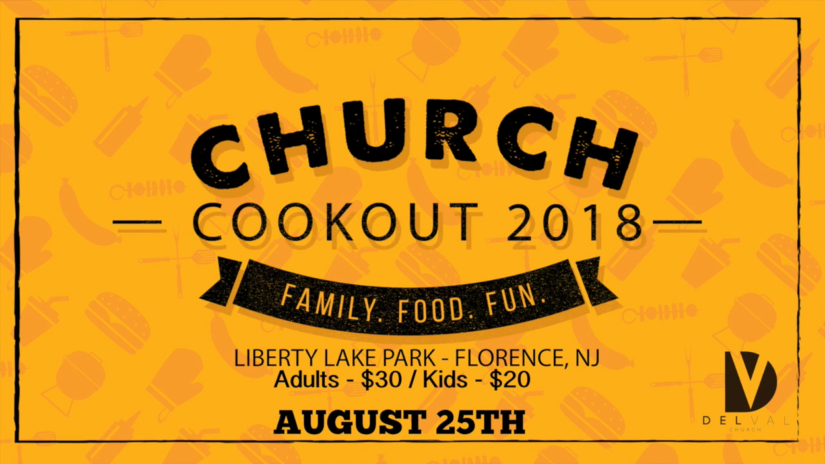 Church Cookout 2018
