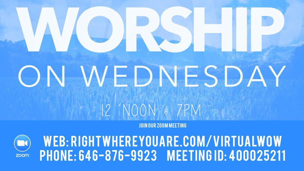 Virtual Worship On Wednesday