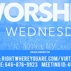 Virtual Worship On Wednesday